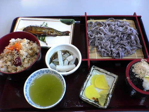 あしがくぼ定食(¥1,000-)