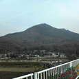 近づいてきた筑波山
